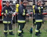 <h5>2003 Dreharbeiten Feuerwehr</h5>